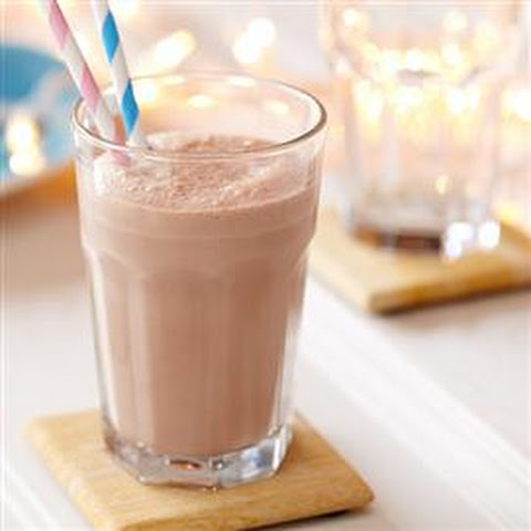 Chocolate Hazelnut Raspberry Smoothie