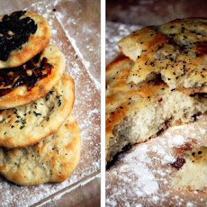 Italian Focaccia and Four Topping Ideas