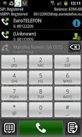 Screenshot of EuroTELEFON Video VoIP