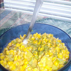 Curried Creamed Fresh Corn Great for Summer