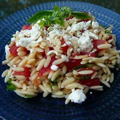 Lemon Orzo Salad With Feta Recipes | Yummly