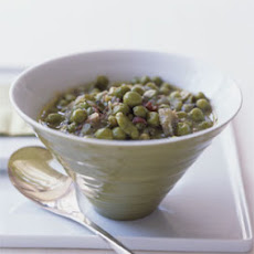 Fava Bean, Pea, and Artichoke Stew