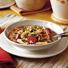 Chicken-and-Sausage Gumbo
