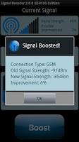 Screenshot of SignalBooster