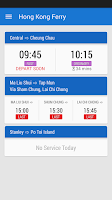 Screenshot of Hong Kong Ferry 4.0