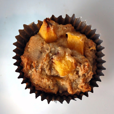 Honey Peach Muffins
