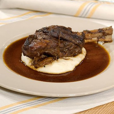 Braised Lamb Shanks with Tom