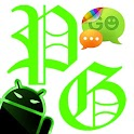 GOSMS Theme - PoisonGreen icon