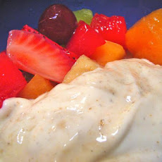 Fresh Fruit in Lime-Yogurt-Cardamom Dressing