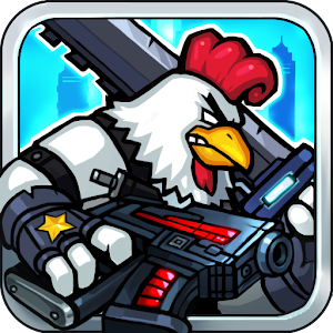 Cover art Chicken Warrior:Zombie Hunter