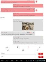 Screenshot of Secure Send Private Messenger