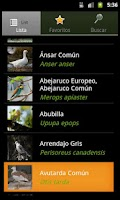 Screenshot of Bird Guide pro