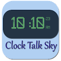 Clock Talk Sky icon