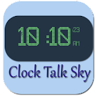 Clock Talk Sky icon