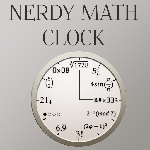 Nerdy Math Clock LOGO-APP點子