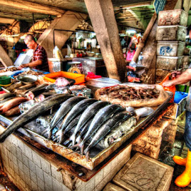 Fishmongers by Ron Lau - Food & Drink Meats & Cheeses