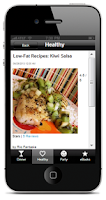 Screenshot of Healthy Recipes