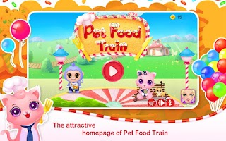 Screenshot of Pet Food Train