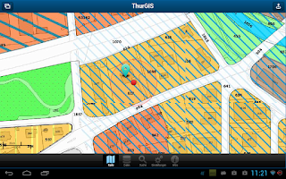 Screenshot of ThurGIS