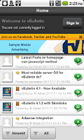Screenshot of devAPP Forum