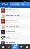 Screenshot of Rockbot - Social Jukebox App