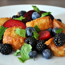 Summer Fruit Panzanella