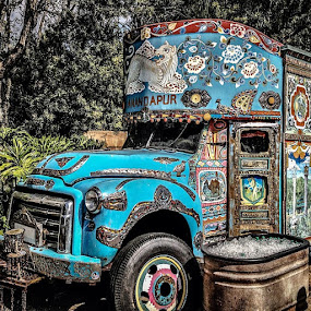 Anyone for ice cream?? by David Whitehead - City,  Street & Park  Amusement Parks ( color, colors, landscape, portrait, object, filter forge )