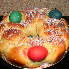 Tsoureki - Greek Easter Bread (Bread Machine Recipe)