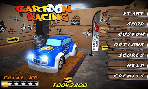 Cartoon Racing - screenshot