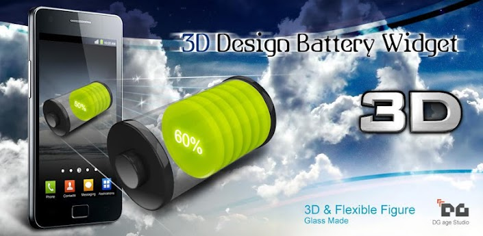 3D Design Battery Widget R2 v1.0