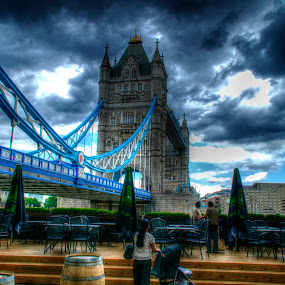 Tower Bridge  by Joshua Malcolm  - Buildings & Architecture Bridges & Suspended Structures ( amazing, london, the thames, tower bridge, people, city )