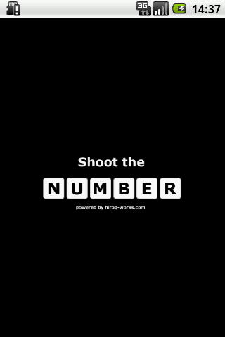 Shoot the NUMBER