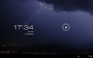 Screenshot of Storm (Live wallpaper)