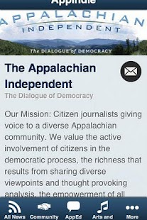 The Appalachian Independent - screenshot
