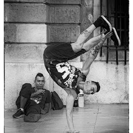 Street Dance by Igor Debevec - People Street & Candids ( dance street,  )