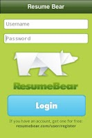 Screenshot of Resumebear