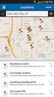 Screenshot of Zions Bank Mobile Banking