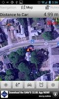 Screenshot of Find My Car Lite