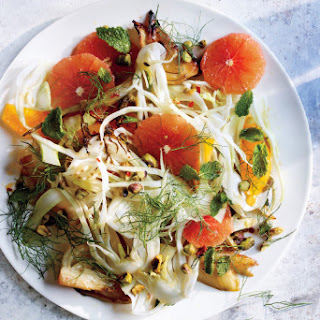 Roasted and Raw Fennel Salad With Blood Orange