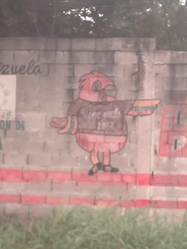 Mural Mascota Venezuela