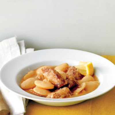 Slow-Cooker Turkey Stew with Lima Beans