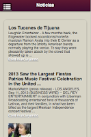 Screenshot of Los Tucanes de Tijuana