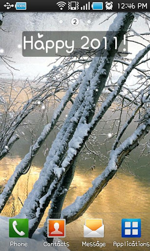 冬の風景LiveWallpaper