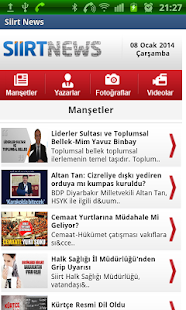 Siirt News - screenshot