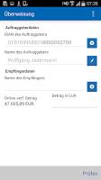Screenshot of BBBank-Banking