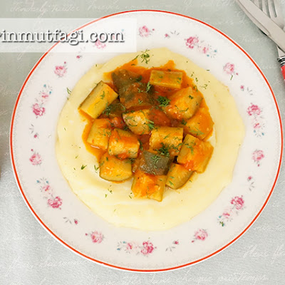 Cream Polenta With Sauteed Zucchini