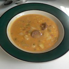 Pumpkin and Sausage Chowder