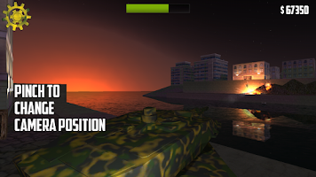 Screenshot of Captain Leopard - Tank Game