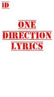 Screenshot of One Direction Lyrics