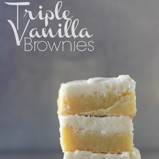 Vanilla Glaze Brownies Recipes